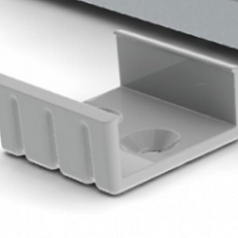 SL-16 Mounting bracket PVC Grey