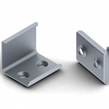 ALU-45 Mounting bracket Steel Grey