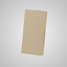 1/2 blank cover modular gold